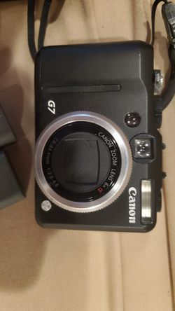 Canon G7 powershot for Sale in Alexandria,  VA