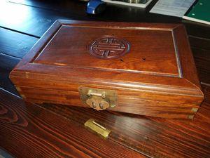 Beautiful wooden Oriental jewelry box for Sale in Virginia Beach, VA