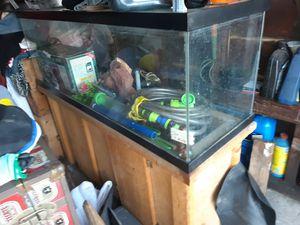 60 gallon fish tank for Sale in Norwalk, CA
