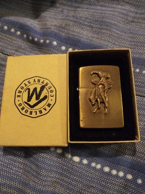 Solid brass zippo marlboro for Sale in Torrance, CA