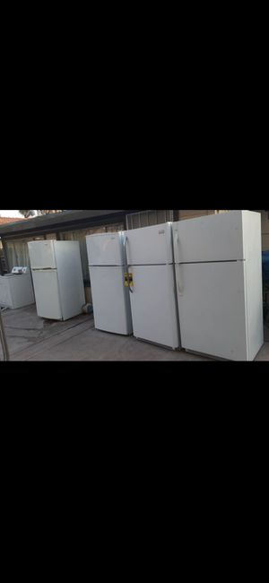 Fridge refrigerator appliance frigidaire Kenmore emerson whirlpool apartment sized delivery available stainless steel appliances refrigerador refri for Sale in Colton, CA