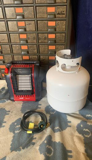 Mr Heater Portable Buddy Indoor/Outdoor Heater for Sale in Elyria, OH