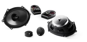 """JL Audio C3-570 Evolution C3 Series 5"""" x 7"""" / 6"""" x 8"""" 2-way Convertible Component/Coaxial Speakers System (Pair) for Sale in Los Angeles, CA"""