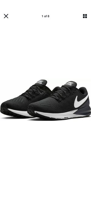 NIKE Air Zoom Structure 22 Women Running Shoes Size. New without box. 10 Black for Sale in South Gate, CA