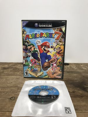 Mario Party 7 For Nintendo Gamecube, Cleaned tested and Works great 🕹❄️🎮 for Sale in Pittsburg, CA