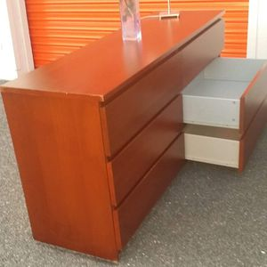 IKEA MALM DOUBLE DRESSER DRAWERS SLIDING SMOOTHLY for Sale in Fairfax, VA