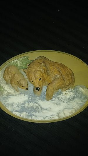 3d Bear and Cub wall art for Sale in Payson, AZ