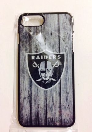 """New """"Oakland Raiders"""" case for iPhone 8 or iPhone 7 for Sale in City of Industry, CA"""