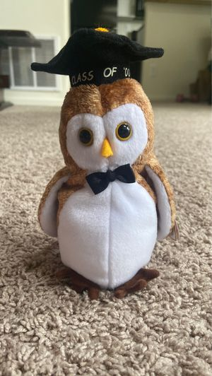 Wisest original Beanie Baby with tag attached for Sale in Evesham Township, NJ