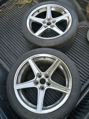Rims saleen 18x9 for Sale in Dudley, NC