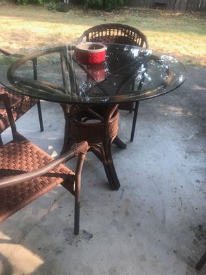 Outdoor patio set rustic cowboy furniture fixer! for Sale in Sherwood, OR