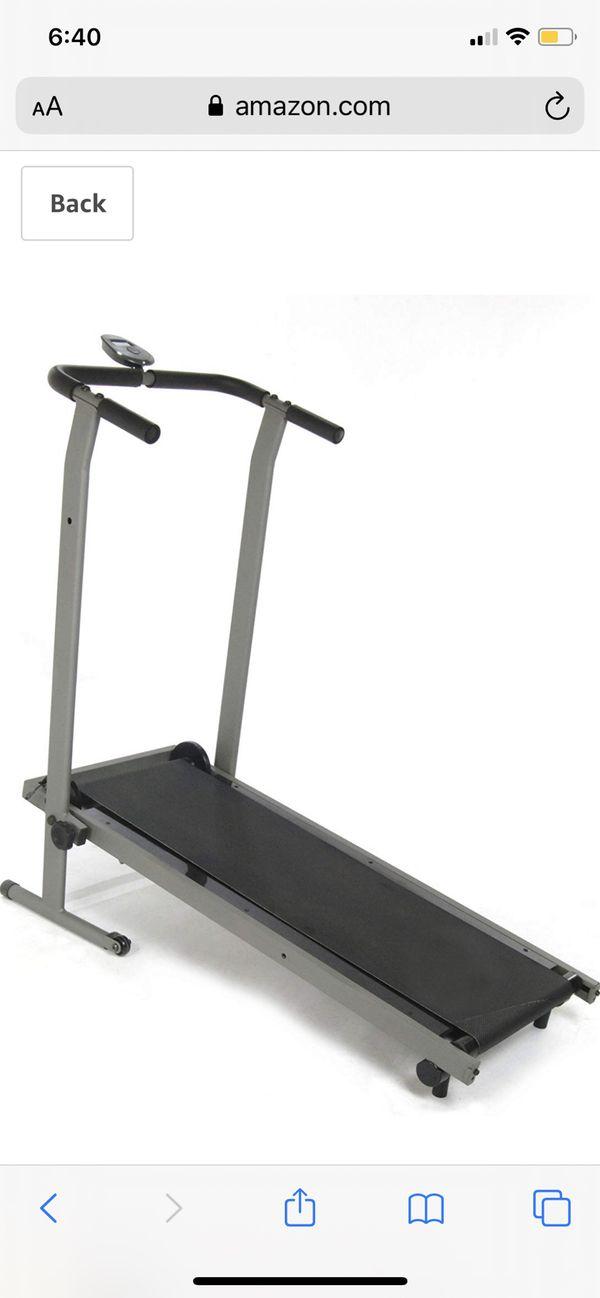 Folding Treadmill Manual