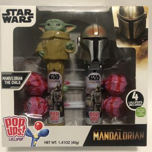NEW Star Wars The Mandalorian and The Child Pop Ups Lollipops for Sale in Norwalk, CA