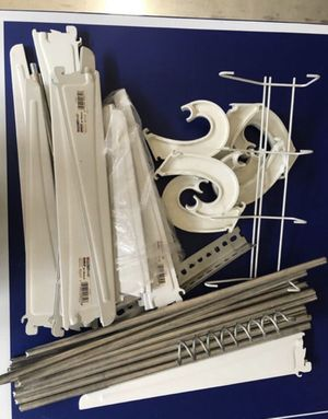 Shelf brackets and rods for Sale in Porter Ranch, CA