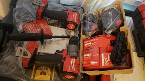 Milwaukee M18 Fuel . Brand New impact and hammer drill . No box. Brand New charger and batteries. for Sale in Concord, CA