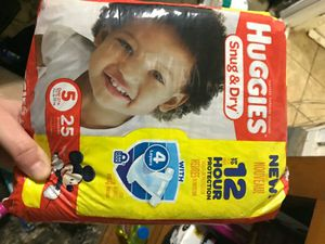 Huggies diapers for Sale in Marlboro Township, NJ