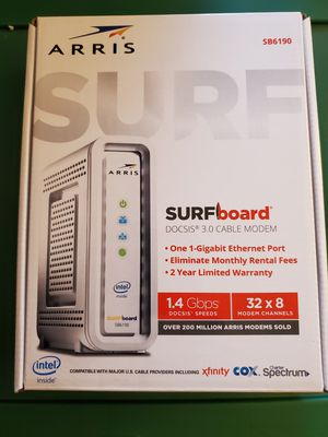 Arris Surfboard cable modem for Sale in Pleasant Grove, UT