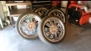 22 inch rims for Sale in Perris, CA