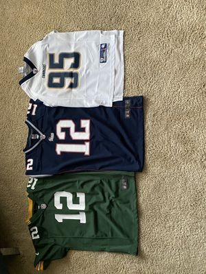 Bundle Youth NFL jerseys for Sale in Bonney Lake, WA