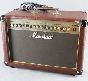 Marshall AS50D Acoustic soloist amp, two channels, 50 watt for Sale in Eastman, GA