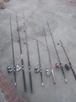 Fishing rods and reels [Diawa, Abbu Garcia....] for Sale in Lake Elsinore, CA