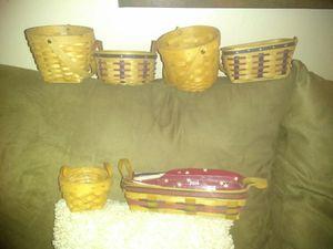 Longaberger baskets for Sale in Las Vegas, NV