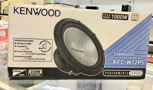 """Car Audio Subwoofer Bocina Parlante 12"""" Kenwood Performance Series for Sale in Miami, FL"""