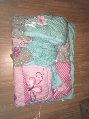 Baby Crib set for girls Cuna for Sale in Houston, TX