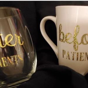 Custom Wine Glass And Coffee Cup for Sale in Biggs, CA