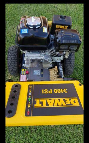 DEWALT GAS 3400 PSI GAS PRESSURE WASHER LIKE NEW for Sale in San Bernardino, CA