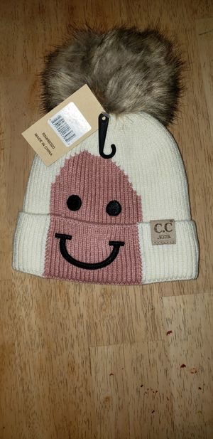 CC Kids Ivory Lined Beanie for Sale in Rockland, MA