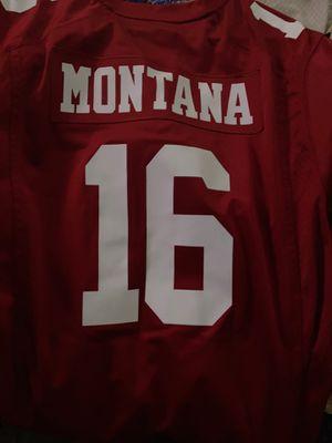 Joe montana Jersey XL for Sale in San Jose, CA