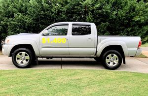 Available Now$14OO-Selling URGENT!Silver 2OO7 Toyota Tacoma for Sale in Washington, DC