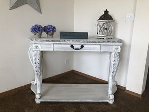 Custom finished sofa table for Sale in Orting, WA