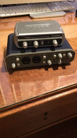 M-Audio Fast Track and Fast Track Pro for Sale in Southbridge, MA