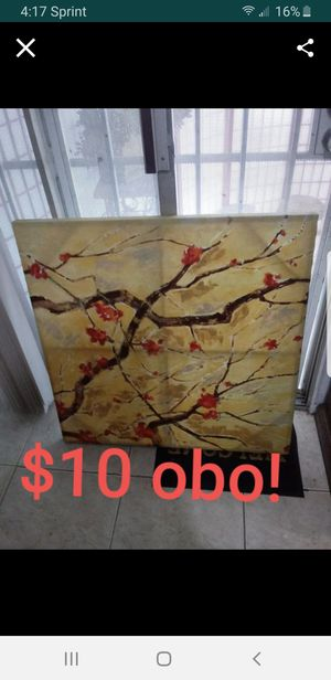 Cherry Blossom painting artwork decorations for Sale in City of Industry, CA