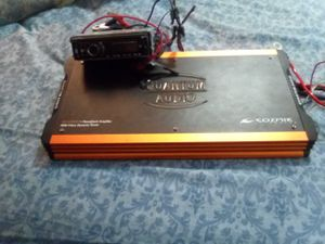 4000 watte monoblock amp and dual CD player. for Sale in Marlinton, WV