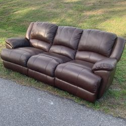 Free Leather Couch!! for Sale in Port Charlotte,  FL