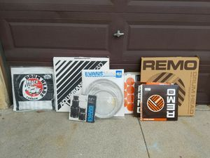 Various used drum heads for Sale in Culver City, CA