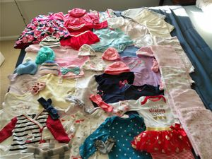 Baby Girl Clothes 3 -9 month for Sale in Fairfax, VA