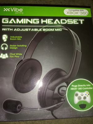Vibe Gaming Xbox 360 headset for Sale in Zachary, LA