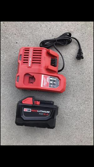 New Milwaukee batery 9.0ah and charger $200 for Sale in West Valley City, UT