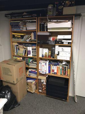 Bookshelves wood for Sale in Marlboro Township, NJ