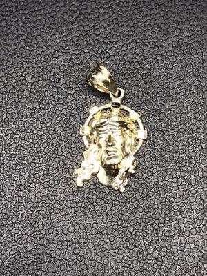 10k Real Gold Jesus Face Pendant for Sale in Irvine, CA