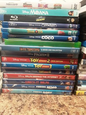 DVDs (mostly kids movies) for Sale in Glendale, AZ