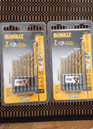 DeWalt Drill Bits for Sale in Federal Way, WA