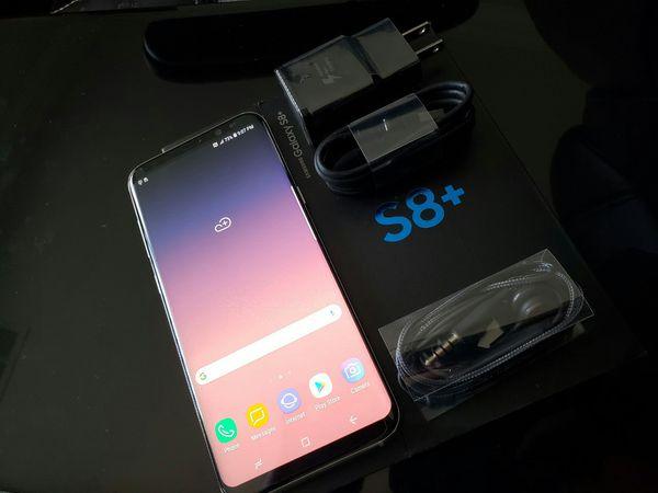 Samsung Galaxy S8 Plus , Excellent Condition, FACTORY UNLOCKED.