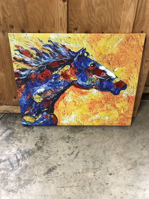 Colorful painting of a horse for Sale in Atlanta, GA