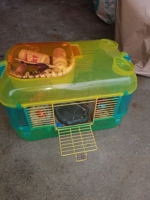 Fancy Hermit Crab Reptile Cage w extras for Sale in Concord, MA