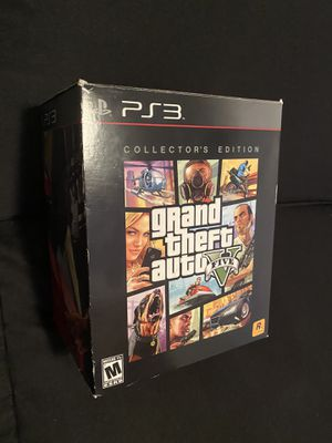 Grand theft auto five collectors edition for Sale in Los Angeles, CA